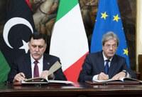 Firmato a Roma il Memorandum Italia-Libia sull'immigrazione