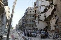 Aleppo, città martire, espugnata dalle truppe di al Assad. Decisiva l'aviazione di Putin