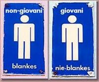 ITALIA: ESISTE ANCORA L'APPARTHEID TRA BIANCHI E NERI. SULLE NAVI MERCANTILI
